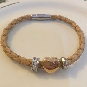 Fossil Leather Bracelet ♥️